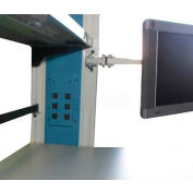 WSI Flat Screen Swing Arm PB-SWA-FM2, PB Series, Double Arm, Grey
