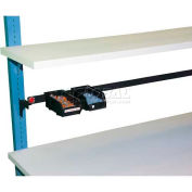 "WSI ESD Laminate Shelf PBLS1230E-W, PB Series, 12""D X 30""W, White"