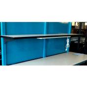 "WSI Rear Isolation Panel PBS-ISO72, PB Series, Steel, 72""W"