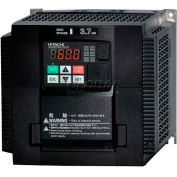 Hitachi Frequency Inverter, 7.5(10) HP, 380-480V, WJ200-055HF