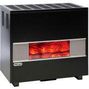 Williams Fireplace-Look Room Heater 3502522A Natural Gas 35000 BTU