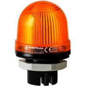 Werma 80030000 Permanent Beacon EM 12 - 240V AC/DC, IP65, 58 g, Yellow