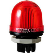 Werma 80110075 LED Perm. Beacon EM 24V AC/DC, IP65, 45 Ma, 60 g, Red