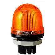 Werma 80130067 LED Perm. Beacon EM 115V AC, IP65, 25 Ma, 60 g, Yellow