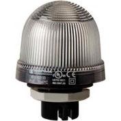Werma 81540000 Permanent Beacon EM 12 - 240V AC/DC, IP65, 96 g, Clear