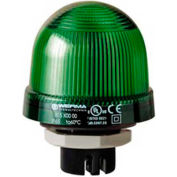 Werma 81620067 LED Perm. Beacon EM 115V AC, IP65, 25 Ma, 95 g, Green
