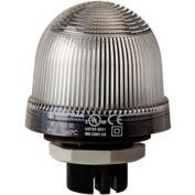 Werma 81640055 LED Perm. Beacon EM 24V AC/DC, IP65, Clear