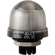 Werma 81640067 LED Perm. Beacon EM 115V AC, IP66, Clear