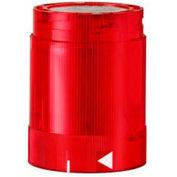 Werma 84812055 LED Flashing Light El. 24V DC, IP54, Red 45 Ma