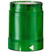 Werma 84821075 LED Blinking Light Element 24V AC/DC, IP54, Green 25 Ma