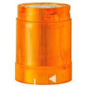 Werma 84832055 LED Flashing Light El. 24V DC, IP54, Yellow 45 Ma