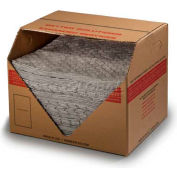 "ESP Meltblown Medium Weight Universal Pad Single Side Laminated, 2MBGPSL, 15"" x 18"", 100 Pads/Box"