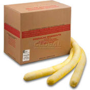 "ESP Chemical Super Absorbent Flake Socks, 30YS34-SB, 3"" x 4', 30 Socks/Box"