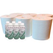Spilfyter® Disinfecting Wipe Kit Pro Refill - 6 Refill Rolls