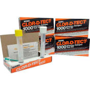 CLOR-D-TECT® CODETSG-10, Chlorine Halogen Test Kit, 1000 ppm, 10/PK