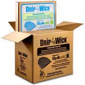 Disposable Black Laminated Urinal Mat, DRIPSB, 30 Pack