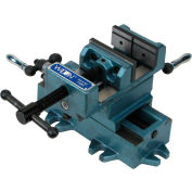"Wilton 11695 Model CS5 5"" Jaw Width 5"" Opening 1-1/2"" Jaw Depth XY Cross Slide Drill Press Vise"