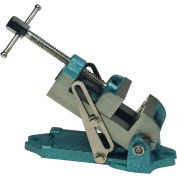 """Wilton 12870 Model 30A 3-1/8"""" Jaw Width 3-1/8"""" Opening 1-3/4"""" Jaw Depth Drill Press Angle Vise - Pkg Qty 2"""