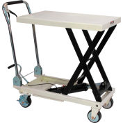 JET® SLT Series Scissor Lift Table with Folding Handle 140771 330 Lb. Cap.