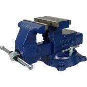 "Wilton 14600 Model 4600 6-1/2"" Jaw Width 8"" Opening 4"" Throat Depth Reversible Mechanics Vise"