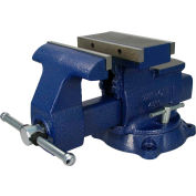 "Wilton 14800 Model 4800 8"" Jaw Width 9-1/2"" Opening 5"" Throat Depth Reversible Mechanics Vise"