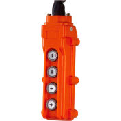 JET® 4 Button Pendant 15' Power Cord 152416 for ET Series Electronic Hoists