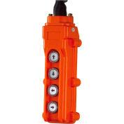 JET® 4 Button Pendant 20' Power Cord 152421 for ET Series Electronic Hoist