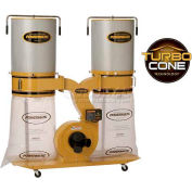 Powermatic 1792072K Model PM1900TX-CK1 3HP 1-Phase 230V Dust Collector W/ 2-Micron Canister Kit