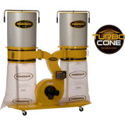 Powermatic 1792074K Model PM1900TX-CK3 3HP 3-Phase 230/460V Dust Collector W/ 2-Micron Canister Kit