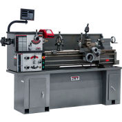 Jet 321104 GHB-1340A Geared Head Bench Lathe W/Newall DP700, Taper Attachment & Collet Closer, 2 HP