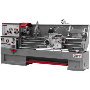 Jet 321477 GH-1660ZX Large Spindle Bore Lathe W/Taper Attachment, 7-1/2 HP