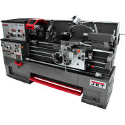 Jet 321544 GH-1660ZX Large Spindle Bore Lathe W/Taper Attachment & Collet Closer, 7-1/2 HP