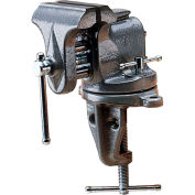 "Wilton 33153 Model 153 3"" Jaw Width 2-1/2"" Opening 2-5/8"" Throat Depth Clamp-On Bench Vise"