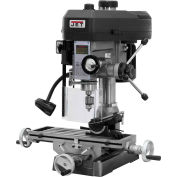Jet 350017 JMD-15 Milling/Drilling Machine W/R-8 Taper, 1HP, 115/230V, 1-Phase