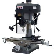Jet 350018 JMD-18 Milling/Drilling Machine W/R-8 Taper, 2HP, 115/230V, 1-Phase