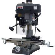 Jet 350018 JMD-18 Milling/Drilling Machine W/R-8 Taper, 2HP, 115/230V, 1-Phase