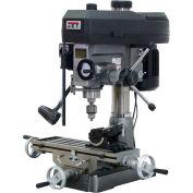 Jet 350125 JMD-15 Milling/Drilling Machine W/Newall DP700 DRO, 1 HP