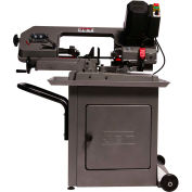 "JET® 414558 HBS-56S, 5"" x 6"" Variable Speed Mitering Horizontal Mitering Bandsaw"