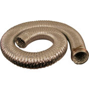 "JET 414710 8' Long 4"" Diameter 130° Capacity Heat Resistant Hose"
