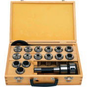 JET® 466001 R8 Mill Chuck and Collet Set
