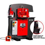 Edwards 55203512 55 Ton Ironworker 3 Phase, 208 Volt, PowerLink, Coper Notcher