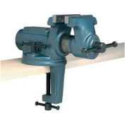 "Wilton 63198 Model CBV-65 2-1/2"" Jaw Width 2-1/8"" Opening 1-3/4"" Throat Super-Junior Clamp-On Vise - Pkg Qty 2"