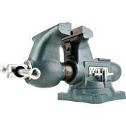 """Wilton 63200 Model 1755 5-1/2"""" Jaw Width 3-3/4"""" Throat Depth Tradesman Vise W/ Swivel Base"""