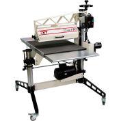 "JET 649600 Model 22-44 Pro 3HP 1-Phase 22"" Drum Sander W/  DRO, Tables, & Casters"