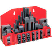 """JET® 52-pc Clamping Kit w/ Tray for 1/2"""" T-slot"""