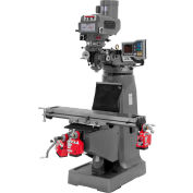 JTM-4VS-1 Mill With 3-Axis ACU-RITE VUE DRO  With X, Y and Z-Axis Powerfeeds