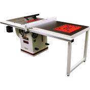 "JET 708679PK 5HP 1-Phase Deluxe Xacta® Table Saw 50"" Rip W/ Downdraft Table & Leg Set"