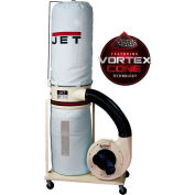 JET 710703K Model DC-1200VX-BK3 2HP 3-Phase 230/460V Dust Collector W/ 30-Micron Bag Filter Kit