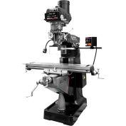 JET® 894194 ETM-949 Mill,3-Axis ACU-RITE 203 (Knee) DRO,Servo X-Axis Pwrfd,USA Air P. Drw Br