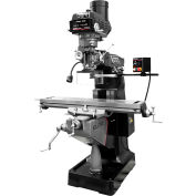JET® 894231 ETM-949 Mill with 3-Axis Newall DP700 (Knee) DRO and Servo X, Y-Axis Powerfeeds